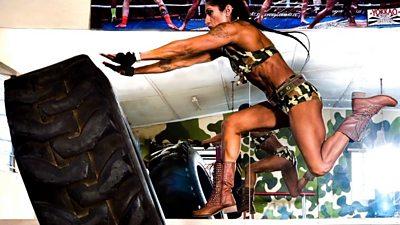 Sheetal Kotak, female body builder