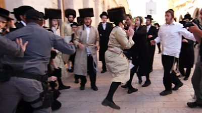 Ultra-orthodox Jewish protests against Eurovision