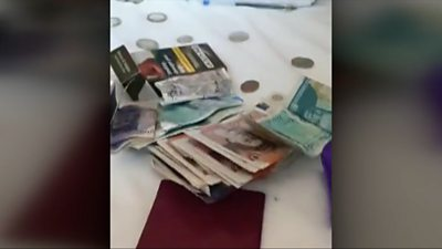 Drugs and cash found in police search