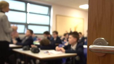One Syrian pupil at St Clare's Primary School in Belfast has been excelling at language subjects.