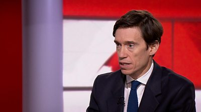 Rory Stewart says he would not able to serve under Boris Johnson if his rival for the Conservative leadership becomes prime minister.