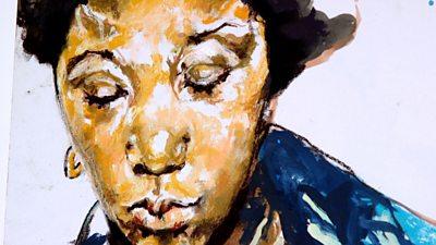 Claudette Johnson artwork