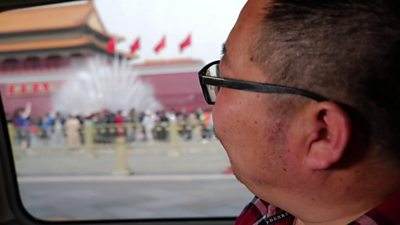 Returning to Tiananmen Square for the first time