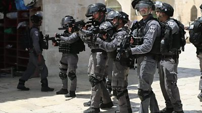 Israeli police forces
