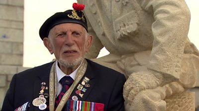 D-Day veteran Joe Cattini