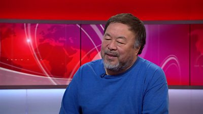 Ai Weiwei talks to the BBC