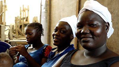 Three women in Lagos