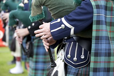 A new generation of players are honing their skills on the bagpipes.  Ballymartin Pipe Band teaches new learners the chanter, before they progress on to the pipes.