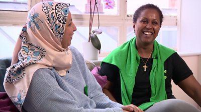 Mouna and Turafat