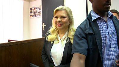 Sara Netanyahu in court