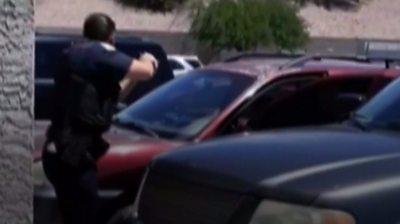 Phoenix police confrontation
