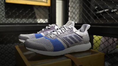 Adidas shoes made of recycled plastic