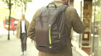 A school in south-east London is trialling out backpacks that measure pollution to see how bad the air is.
