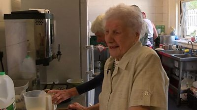 Devoted Peggy Maskrey, 98, has been serving the community since she was a teenager.