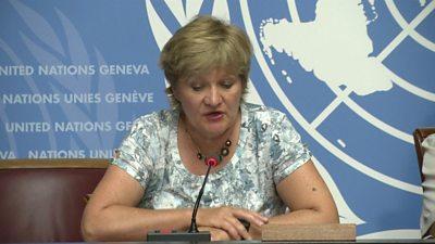 WMO spokeswoman Clare Nullis