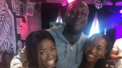 Chelsea and Ore with Stormzy