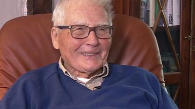 Scientist James Lovelock speaks to the BBC's Mishal Husain ahead of his 100th birthday.