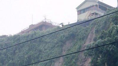 Landslide in Japan