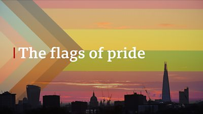 The flags of pride