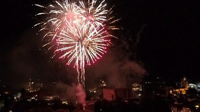 Norwich Lord Mayor's Celebration fireworks
