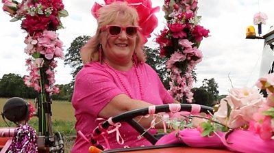 Pink Ladies' driver Lynne Ainge