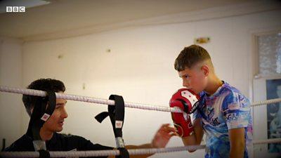 Jamie boxing