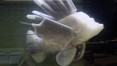 A synthetic lionfish
