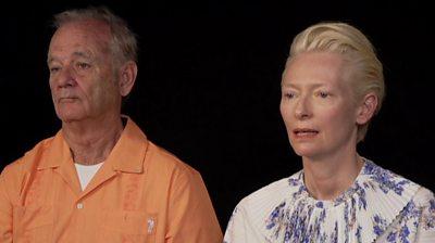 Bill Murray and Tilda Swinton