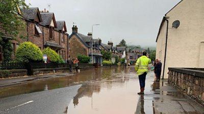 Dingwall Flood