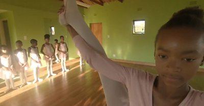 12 year old ballet dancer Lwandle