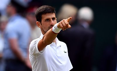 Novak Djokovic beats Roger Federer to retain his Wimbledon title in a final-set tie-break