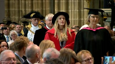 Ellie Goulding receives honorary degree