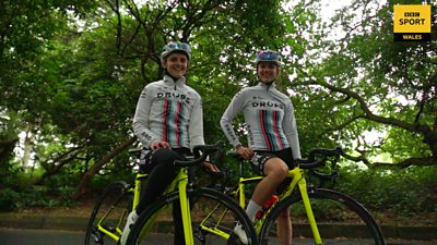 British cyclists Elinor and Meg Barker aim to compete together at the Tokyo 2020 Olympics