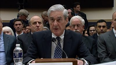 The former special counsel opened his testimony to Congress by summarising his two-year report.