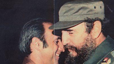 Fidel Castro and Antonio de la Guardia