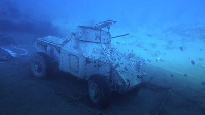 Sunken tanks
