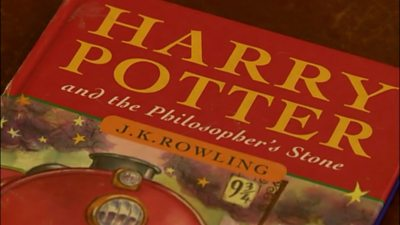 One pound Harry Potter book sells for £28,500.