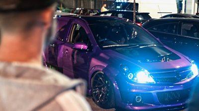 Car at Dunstable car meet
