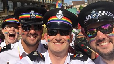 Members of Norfolk and Suffolk LGBT+ Police Network