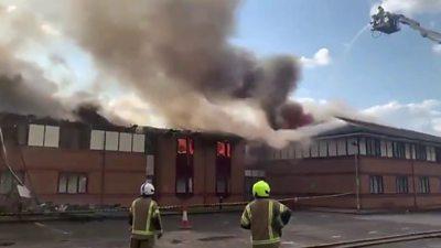 Holiday Inn fire