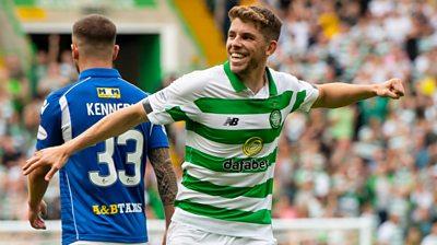 Highlights: Celtic 7-0 St Johnstone