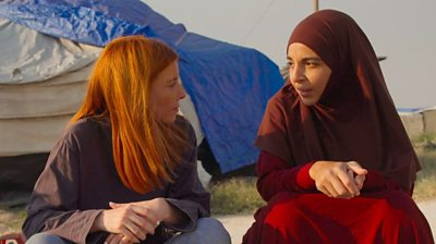 Stacey Dooley speaks to an IS bride