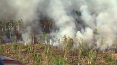 Russian fires
