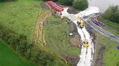 Derbyshire drone footage