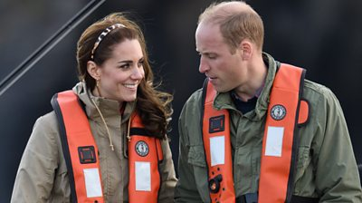The-duke-and-duchess-of-Cambridge.