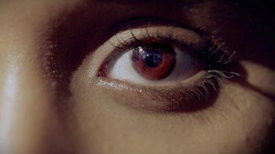 A Somali woman's eye