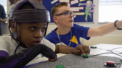 Children in Gaming Class
