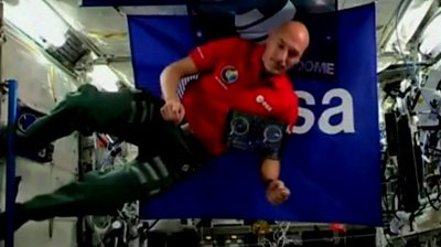 ISS astronaut Luca Parmitano has become the first to DJ in space!