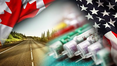 With drug prices soaring in the US, people are travelling to Canada to buy life-saving medication.