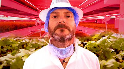 Richard Ballard co-founder of Growing Underground